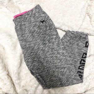 PINK by Victoria's Secret Grey Joggers Size M